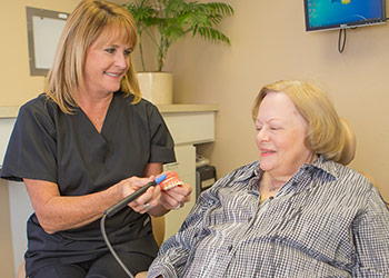 Periodontal Maintenance in Mission Viejo - Our hygienists use ultrasonic scalers for gentle and effective cleaning.